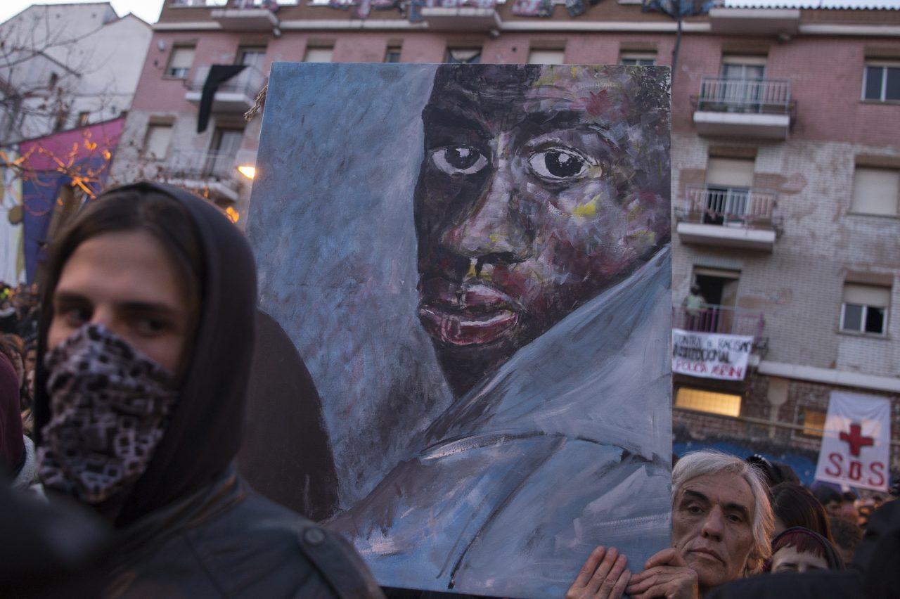 Protesta Manteros