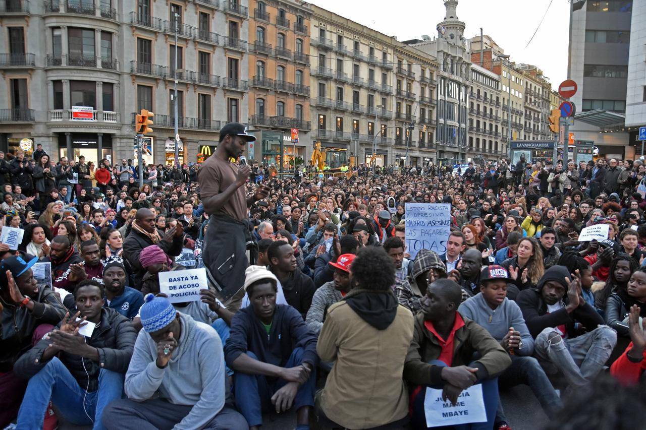Protestas manteros